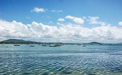 over calm waters... (@petra) Tags: quiet ocean seascape sea atlantic seaside beach armação penha santacatarina brasil south summermemories outdoors nikon