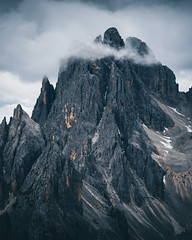 Dolomiti (noberson) Tags: dolomiti dolomites 3 zinnen tre cime peak clouds cloud mood moody detail mountain alps dramatic nature south tyrol italy nikon tamron 70300mm