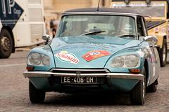 Citroen DS (dprezat) Tags: citroen ds trophéeparispékin 2017 paris pékin trophée raid automobile classic cars collection nikond800 nikon d800