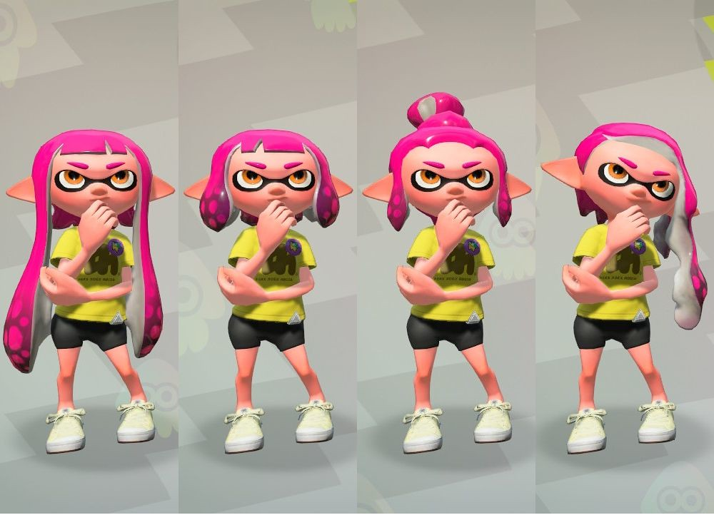 Splatoon 2 Hairstyles: The World's Most Recently Posted Photos Of Inklinggirl