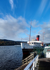 """Maid of the Loch"", Loch Lomond Shores, Balloch (Joe Son of the Rock) Tags: maidoftheloch paddlesteamer lomondshores lochlomondshores drumkinnonbay balloch boat ship themaid"