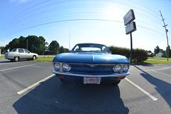 Classic Cars Corvair Club Hoyt's Restaurant Lexington, NC 20170710_4236 (Shane's Flying Disc Show) Tags: classiccars corvairclub davidson nc lexinton unsafeatanyspeed daredevils
