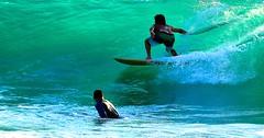 Surfing on the green wave - Tel-Aviv beach (Lior. L) Tags: surfingonthegreenwavetelavivbeach surfing green wave telaviv beach greenwave telavivbeach surfer surf action actionphotography israel sport extreamsport watersport