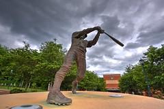 Baseball-vs-UTSA (Senior Day), 5/13, Chris Crews, DSC_3425_6_7_tonemapped (PsychoticWolf) Tags: 49ers baseball charlotte cusa d1 day hdr ncaa roadrunners senior unc uncc utsa