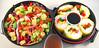Veggie Sushi Bento (Cathryn3) Tags: bento lunch salad lettuce redbellpepper edamame carrot babycorn redcabbage sesame dressing sushi mango greenonion springonion soywrapper soysauce almonds