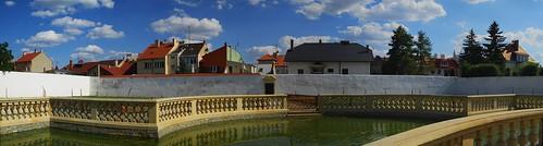 Panoramatický pohled do města