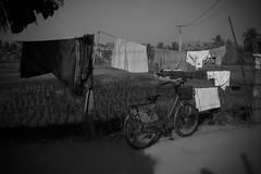 (tymnahpyka) Tags: outdoor bnw bw clothes street india hampi blackandwhitephotography shadows shadowsandlight
