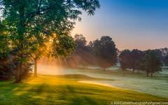 Early Morning Tee Time (westrock-bob) Tags: daybreak countryclub goldenhour peaceful mist cuthill canon sunrise 6d summer copyright sunrays dawn sun peterborough ontario outdoors canada eos golf morning cgolfcourse
