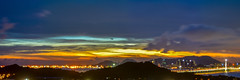Fantastic clouds (kcma17) Tags: sunset beach water sky blue red art fantastic marvelous intriguing fantastical beautiful clever subtle fine wonderful brilliant excellent splendid amazing remarkable landscape night