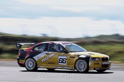 Andrew Armstrong in the Libre Saloons championship at Kirkistown, June 2017