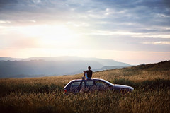 (David Guimarães) Tags: bmw e39 5 series adventure road trip wilderness wild nature sunset mountain mountainscape landscape touring man