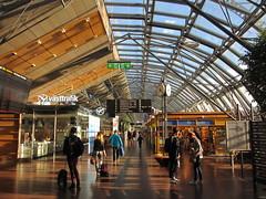Nils Ericson-terminalen, bus station, early morning, Gothenburg, Sweden (Paul McClure DC) Tags: gothenburg göteborg sweden sverige july2015 historic architecture modern