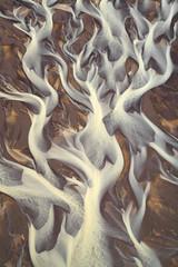 River Delta 36 (Aerindad) Tags: aerial iceland delta glacier heli abstract