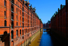 Germany, Hamburg (ClaDae) Tags: speicherstadt hamburg germany deutschland europe warehousedistrict building water port harbor hafencity unescoworldheritagesite travel travelphotograph fujifilm tx20 flickrdiamond