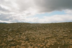 Broken (IggyRox) Tags: iceland island scandinavia europe north highlands nature beauty film 35mm mountains sky clouds hike color hrunamannaafrettur broken rocks vast distance burfellskista selfoss arnessysla