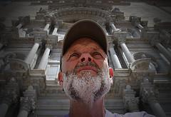 Heavens above (explored) (CJS*64) Tags: cjs64 nikon nikkorlens nikkor girona spain citylife citybreak portrait heavenabove relaxed church religious nikond7000 24mm85mmlens cathedral