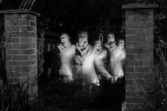 Ghost from the past (Tony_Brasier) Tags: ghost faversham fun fram frends black d5100 nikon kent wall green