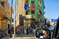 road to Dahshur (Inaki Iglesias) Tags: taxi car strret life people vida calle egipto egypt dashur dahshur travel colour viaje color coche espejo mirror driver