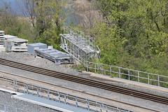 Metrolinx 3rd Track Bridge For GO Transit At Desjardins Canal In Hamilton (drum118) Tags: ontariophoto hamiltonphoto metrolinx gotransit cnrail cprail urbanhamilton metrolinx3rdtrackbridgeforgotransitatdesjardinscanal