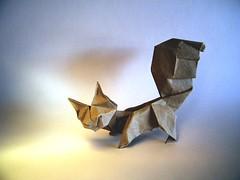 Ardilla (A la Nicolas Terry) - Oriol Esteve (Rui.Roda) Tags: origami papiroflexia papierfalten esquilo ecurreuil squirrel ardilla oriol esteve