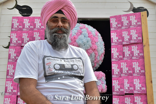 Hardeep Singh Kokli at Village Green 2017