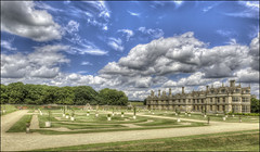 Kirby Hall 2 (Darwinsgift) Tags: 24mm pce f35 nikkor kirby hall northamptonshire gardens elizabethan english heritage nikon d810 hdr photomatix tilt shift