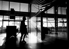 (LIL Scarab) Tags: france nantes airport canon canonfrance canonphotography insta picoftheday travel weekend bnw bnwphotography contrast lines lightroom traveller departure flight eos5dmarkiv ef2470mmf28lusmii holidays