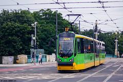 Moderus Beta MF02AC #430 (Łukasz Janowicz) Tags: moderus beta mf02ac 430 poznań mpkpoznań linia17 tram tramwaj strassenbahn