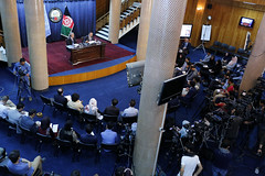 JCMB Press Conferences in Kabul. (UN Assistance Mission in Afghanistan) Tags: 20170710 kabul 10july2017 fardinwaezi un photo july 2017 unitednations unama mrtadamichiyamamoto attended deliveredspeech 20thjointcoordinationandmonitoringboard jcmb meeting towardssom2017 afghanleaders security development internationalsupport people important conferencessecurityanddevelopment eklilhakimi ministeroffinance tadamichiyamamoto srsg jcmbpressconferences pressconferences gmic afghanistan afg