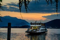 L'approdo (Domenico Laviano) Tags: traghetto ferryboat laveno italia italy lago maggiore riflessi