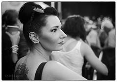 Andrea at A Tea Party (SixthOrder) Tags: nokton concert wny buffalo 2017 teaparty film hp5 leica