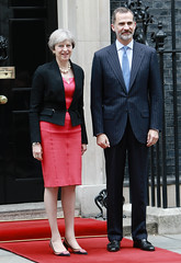 Spanish State Visit Day 2-PM Theresa May welcomes King Felipe VI of Spain to Downing Street (PTSPhotography) Tags: 13thjuly2017 conservative day2 downingstreet kingfelipevi london monarchy politician primeminister royals spanishstatevisit theresamay whitehall government politics posed greaterlondon unitedkingdom