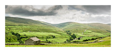 The winding road (oxfordwight) Tags: ngc yorkshire dales stone barns landscape pano panorama swaledale road walls penine