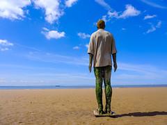 DSCF5528 (Keith Grafton) Tags: crosby beach anthonygormley statues fujifilm gfx50s