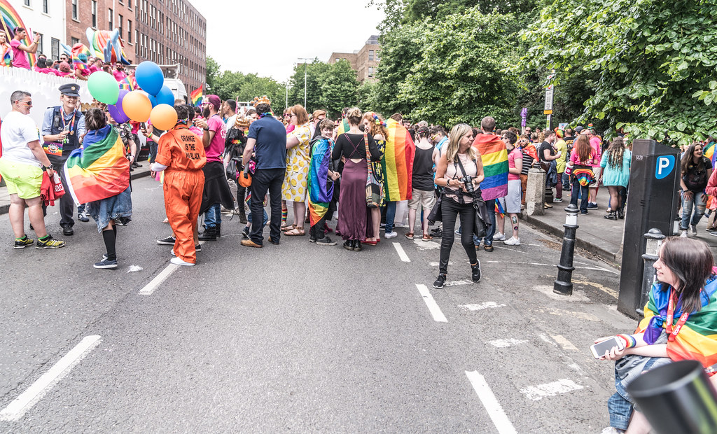 LGBTQ+ PRIDE PARADE 2017 [STEPHENS GREEN BEFORE THE ACTUAL PARADE]-129763