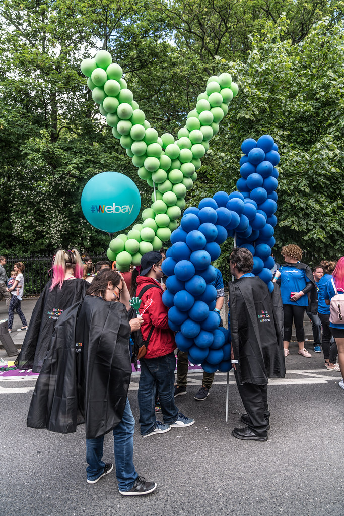 LGBTQ+ PRIDE PARADE 2017 [STEPHENS GREEN BEFORE THE ACTUAL PARADE]-129781