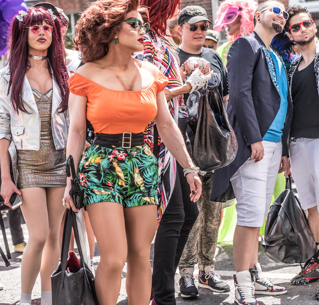 LGBTQ+ PRIDE PARADE 2017 [STEPHENS GREEN BEFORE THE ACTUAL PARADE]-129927