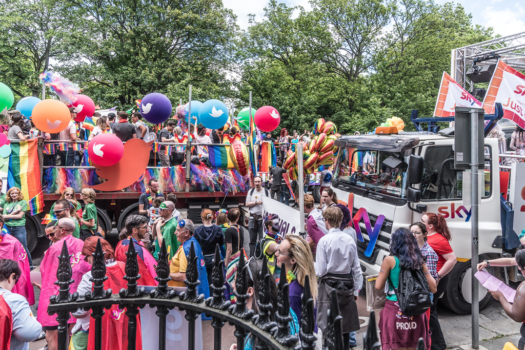 LGBTQ+ PRIDE PARADE 2017 [STEPHENS GREEN BEFORE THE ACTUAL PARADE]-129951