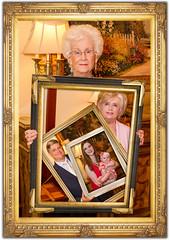 Five Generation 6-10-17-6801 in Frames (Richard Wayne Photography) Tags: fivegenerations 5generations pat patty lewis brittant esther frames collage 2017