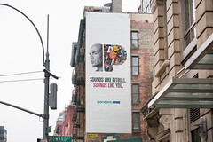 Pandora Radio (Always Hand Paint) Tags: 2017 m149 manhattan music newyork ooh onlineservice pandora pandoracomplete pandoraradio pandoraradiocomplete pitbull spring advertising alwayshandpaint colossal colossalmedia handpaint mural muraladvertising outdoor skyhighmurals soho