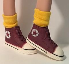 Golden Yellow Short Socks...For Blythe...