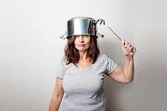 There's power in looking silly and not caring that you do... (~ cynthiak ~) Tags: 365 365days 3652017 2017 june june2017 selfportrait onestrobe img8529 164365 ourdailychallenge odc stainlesssteel