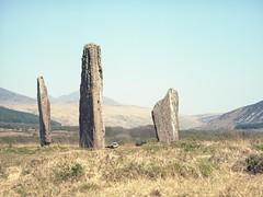 Machrie Moor Stone Circles (soho42) Tags: mamiya645protl kodakektar100 analog machriemoorstonecircles scotland standingstones