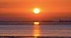 River mouth of the Weser (MaiGoede) Tags: morningmood morgenstimmung morningsun morgen earlymorning landscape landschaft seascape northsea meer ammeer fedderwardersiel wesermündung weser niedersachsen nordsee nordseeküste nikon cmatthiasihriggoede ruhe calmness golden