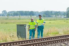 19062017-2585 (Sander Smit / Smit Fotografie) Tags: trein trekker ongeluk spoorwegovergang spoor prorail appingedam loppersum tjamsweer jukwerd