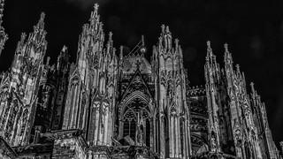 Pillars, saints and gargoyles