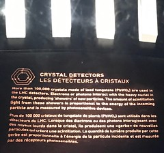 Crystal detectors around the accelerators (LauraGilchrist4) Tags: cern science physics research particlephysics accelerator detector quantumphysics quantum sciencewithoutborders cernkcgigabitchallenge mozilla mozillafoundation switzerland france globeofscienceandinnovation