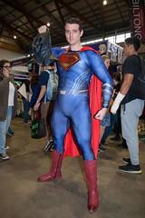Bruce Wayne v Clark Kent (l plater) Tags: brucewayne clarkkent batmanvsupermandawnofjustice dccomics 2017supanovaexpo sydneyolympicpark cosplay
