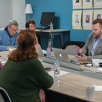David Wrisley visit to AUP's Teaching and Learning Center (March 2017) thumbnail