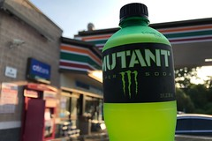 0897-166 Mutant Monster!!! (misterperturbed) Tags: 7eleven mutant mountaindew monster